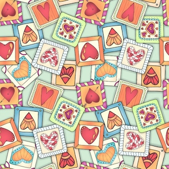 Love pattern design