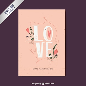 Love Valentine Day Card