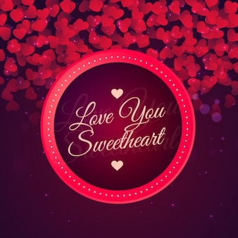 Love you sweetheart background