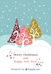 Lovely christmas postcard