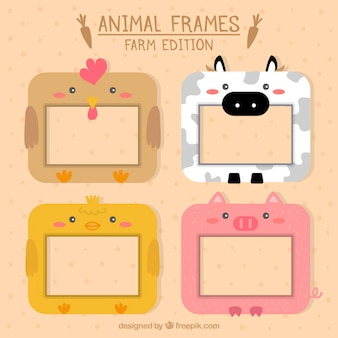 Lovely decorative animal frames