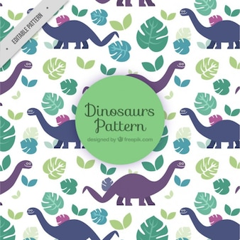 Lovely dinosaurs pattern
