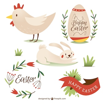 Lovely Easter elements