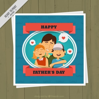 Lovely father card