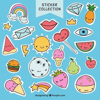 Lovely funny sticker collection