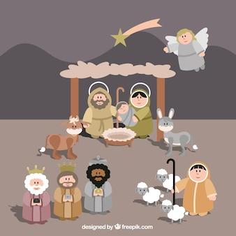 Lovely manger scene