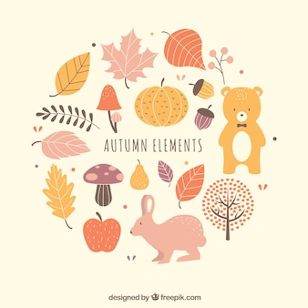 Lovely pack of fun autumn elements