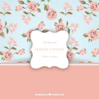 Lovely roses pattern