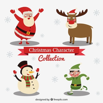Lovely set of christmas characters