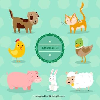 Lovely set of farm animals