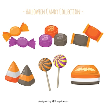 Lovely set of halloween candies