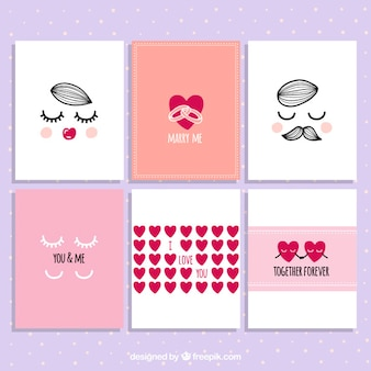 Lovely Valentine Day Card Collection