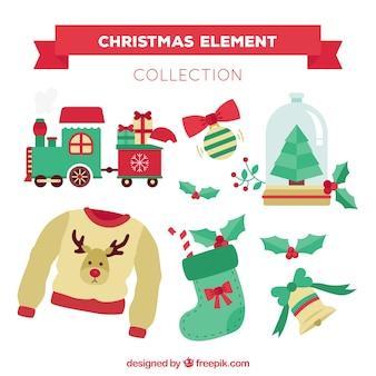 クリスマスアクセサリーの素敵な様々な
