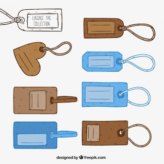 Luggage tag collection