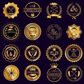 Luxury badgesc
