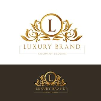 Luxury business logo