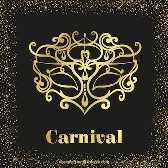 Luxury carnival background