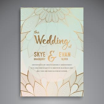 Luxury ethnic wedding design