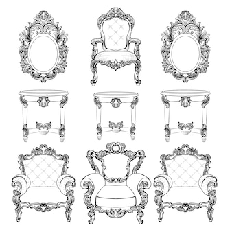 Luxury furniture collection
