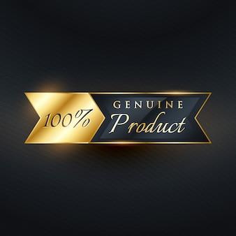 Luxury label design