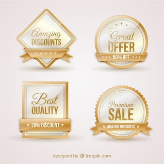 Luxury sale stickers pack