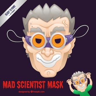 Mad scientist mask