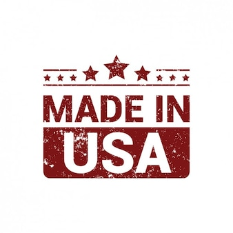 Made in USA in grunge style