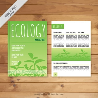 Magazine about sustainable development