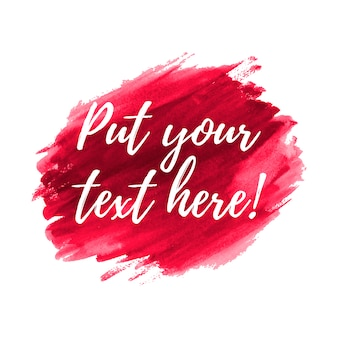 Magenta background with text template