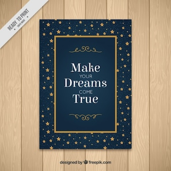 make your dreams come true  greeting card