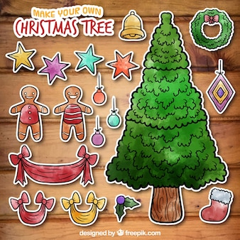 Give new life to your holiday tree by creating handmade Christmas ornaments. Explore hundreds of fun and festive ideas, including Christmas tree ornaments kids can make. Each one offers a unique accent for your tree -- no two are exactly alike.