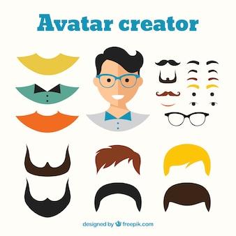 Male avatar creator