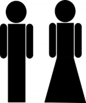 トイレ記号