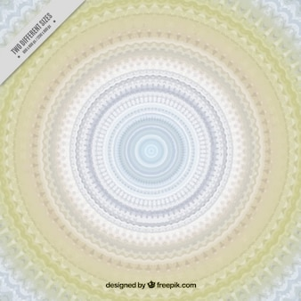 Mandala background with pastel tones
