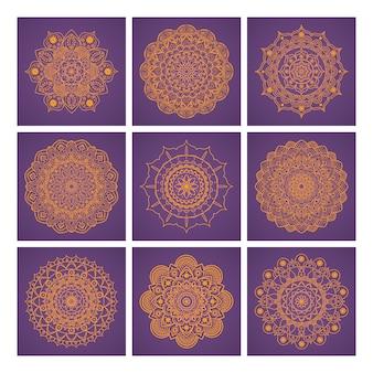 Mandala backgrounds design