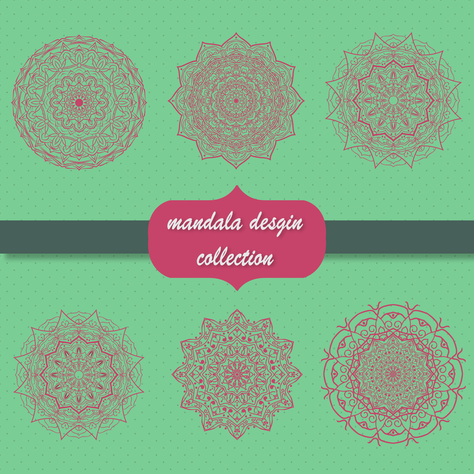 Mandala collection design
