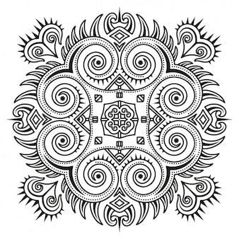 Mandala design background