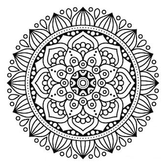 Mandala, empty