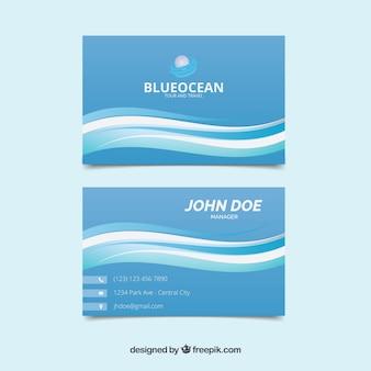 Maritime business card