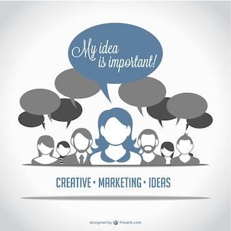 Marketing people avatars
