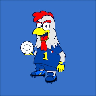 Mascot Rooster French National Team