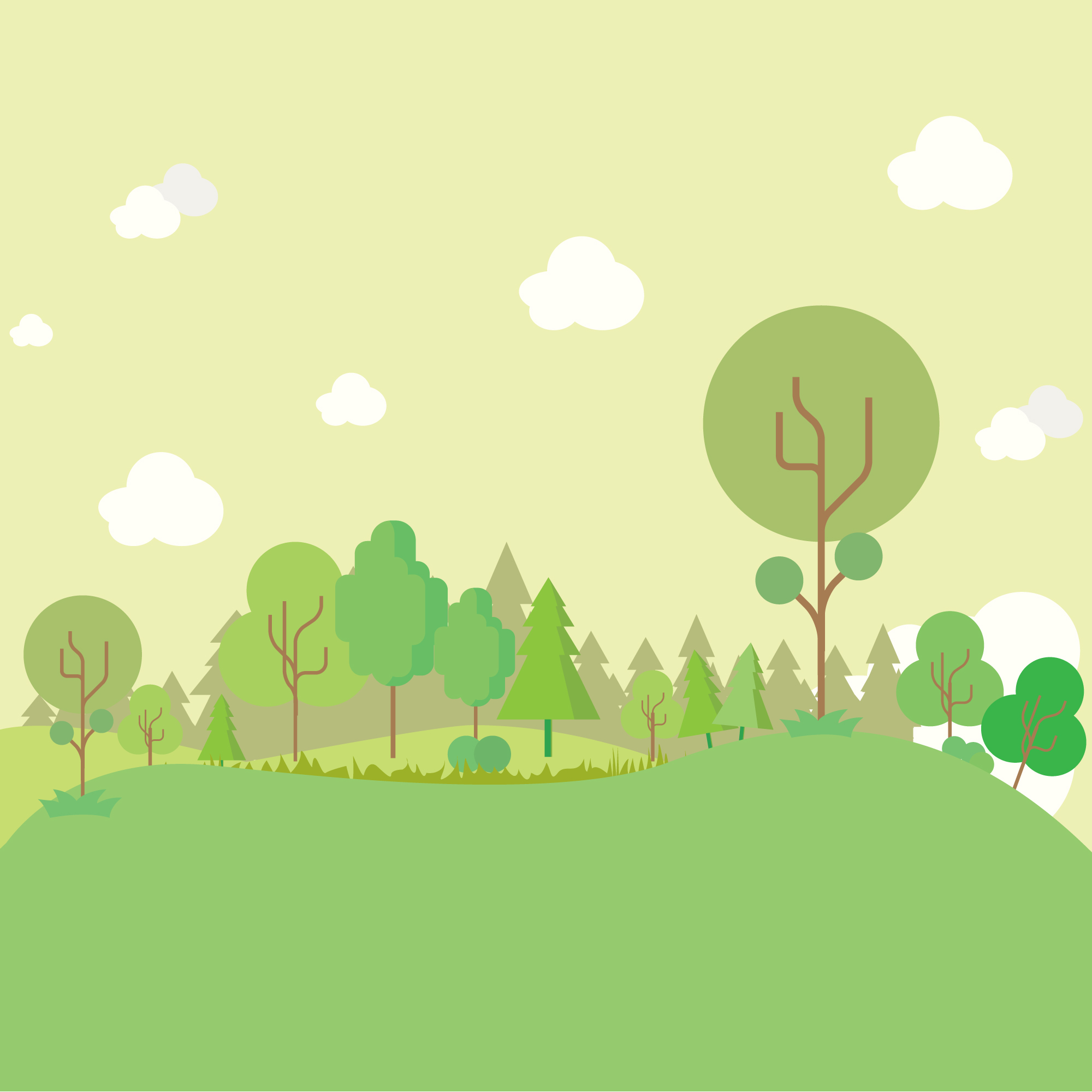 Meadow background design