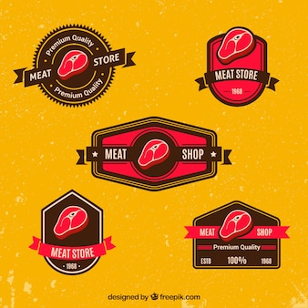 Meat badges collection