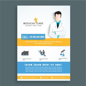 Medical care flyer