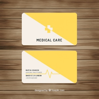 Medical yellow card
