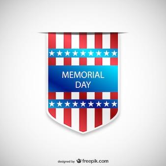 Memorial Day badge