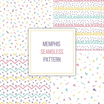 Memphis patterns collection