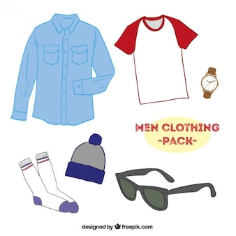 Men clothing pack