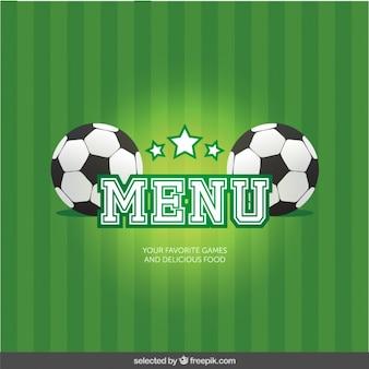 Menu soccer