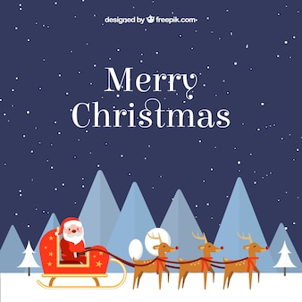Merry Christmas & Happy New Year background
